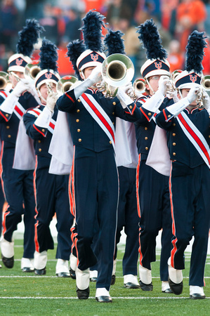 Northwestern Wildcats at Illinois Fighting Illini, Saturday, November 30, 2013 - Marching Illini Photos