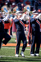Purdue Boilermakers at Illinois Fighting Illini, Saturday, October 8, 2016 - Marching Illini Photos