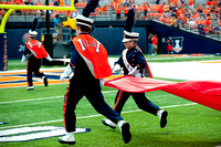 Texas State at Illinois, Saturday, September 20, 2014 - Marching Illini Photos
